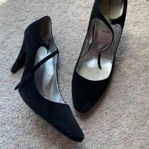Sigerson Morrison Black Mary Jane Heels Size 11